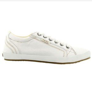 Taos Star Canvas Low Top Sneaker Natural Size 9